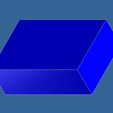 Computer Generated Puzzle Cube Part