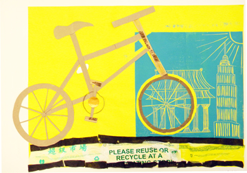 EXPLORE CHINA & RECYCLING THROUGH PRINTMAKING 6