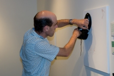 Interacting with the artwork