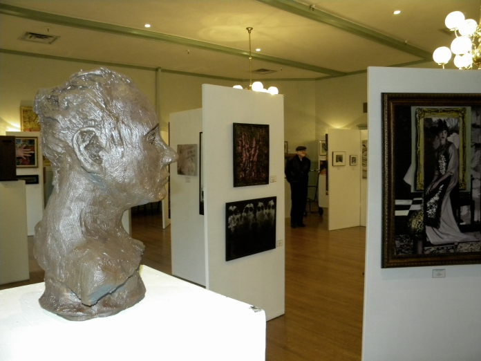 Exhibit at the Bayside Historical Society