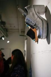 MFTA Opening- Art Shoes by Jennifer Merdjan