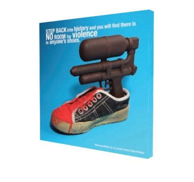 If Shoes Could Talk Violent Shoe Poster Side View
