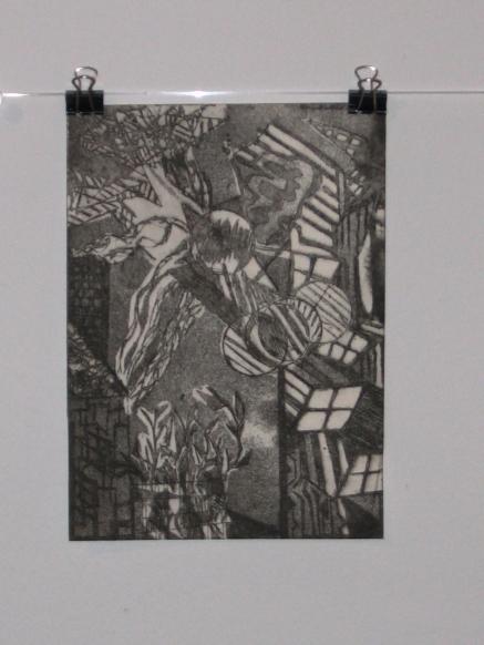 Intaglio Print by Jennifer Merdjan