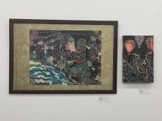 Jennifer Merdjan's artwork at the Plaxall Gallery LIC
