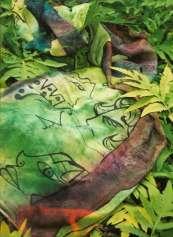 Art Scarves by Jennifer Merdjan