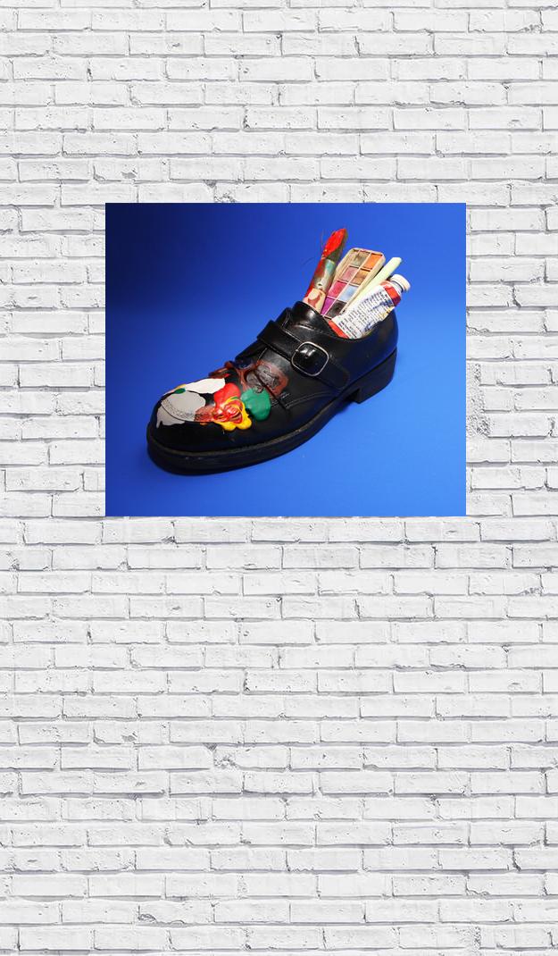 shoe wall art