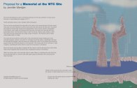 WTC Proposal by Jennifer Merdjan on Exhibit at the The Urban Center