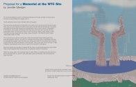 WTC Proposal by Jennifer Merdjan on Exhibit at the The Urban Center