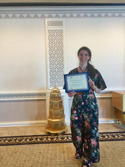 UN Certificate of Appreciation- Award Ceremony